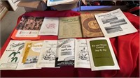 ASSORTMENT OF OLD BROCHURES AND LITERATURE,MANY