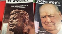 1960'S POST AND NEWSWEEK MAGAZINES
