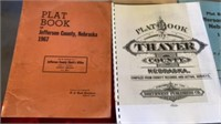 PLAT BOOKS OF VARIOUS COUNTIES