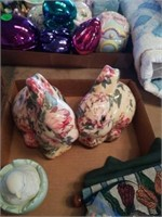 MISCELLANOUS EASTER TREE ORNAMENTS,  COLORFUL