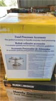 NEW IN PKG FOOD PROCESSOR ACCESSORY AND FOOD/RICE