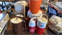 IGLOO WATER COOLER , ICE BUCKET, 2 TUPPERWARE