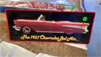1957 CHEVY BELAIR TIN