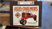 ALLIS-CHALMERS COLLECTOR METAL SIGN