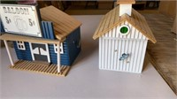 EXTENSIVE WOODEN CHRISTMAS VILLAGE FROM DIFFERENT