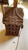 3 DECORATIVE PIECES    TALLEST ONE IS WOOD AND