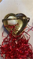 VALENTINES DAY GLASSWARE AND MANY OTHER ITEMS