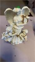 3 ANGELS AMONG  US CANDLES AND ANGEL MUSOC BOX
