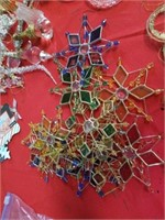 NUMEROUS,  VARIOUS DESIGNS AND COLOR ORNAMENTS -