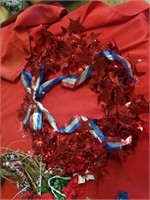 MISCELLANOUS FOURTH OF JULY DECORATIONS,  GRAPE