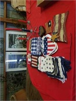 VARIOUS FOURTH OF JULY KITCHEN TOWELS- HOT PADS -