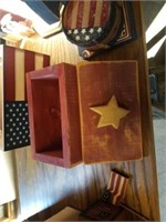 WOOD FOURTH OF JULY DECORATIONS