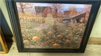 1 AUTUMN PIC AND 1 RUSTIC LOOKING PIC, BOTH ARE