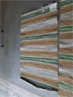 """2 NEW COMING HOME RUGS, 36"""" X 62"""" AND 24"""" X 94"""""""