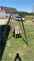 OUTDOOR SWING WITH STAND