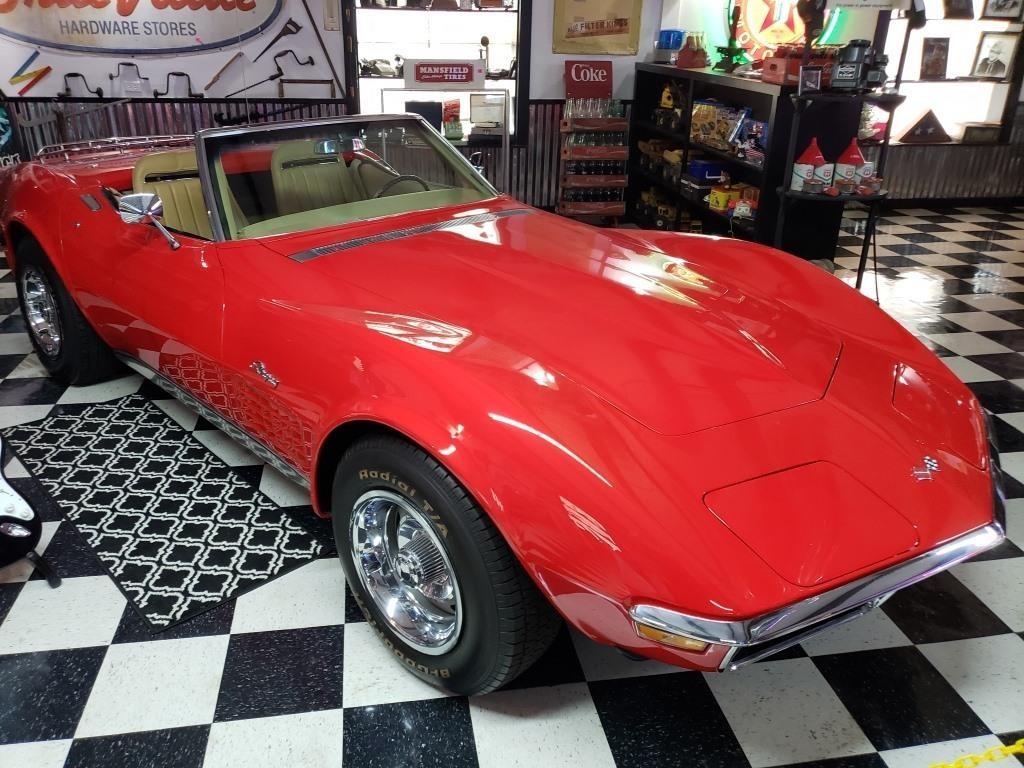 1970 Corvette Stingray 32148 original miles