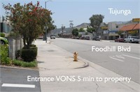 Los Angeles County - City of Los Angeles Lot Sale Tujunga CA
