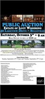 ESTATE of LUCY WOODRING ON SITE ONLY