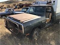 1982 Dodge Truck 4x4 Missing Door