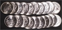 Lot of (20) BU 1890's Mix Date Roll