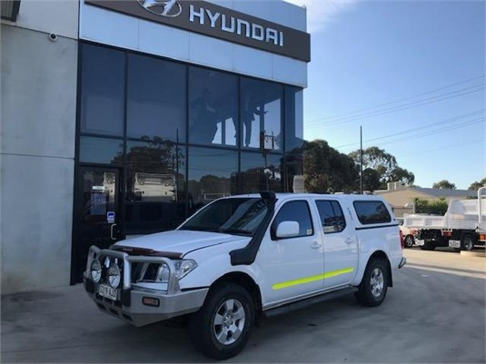 2010 NISSAN Navara D40 ST Dual Cab 4x4 - Light Commercial for Sale