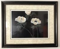 169 - STUNNING WHITE FLOWER PICTURE