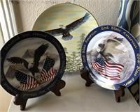 169 - AMERICAN EAGLE COLLECTORS PLATES