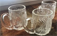 169 - WATERFORD CRYSTAL MUGS