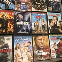 169 - NIGHT AT THE MOVIES DVD'S