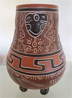 169 - AZTECA CERAMIC VASE