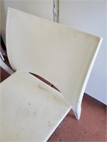 169 - SET OF 5 OUTDOOR CHAIRS