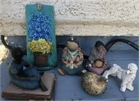 169 - LOT OF HOME DECOR - SEE PICS