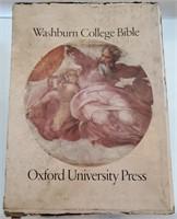 169 - UNIQUE WASHBURN COLLEGE BIBLE