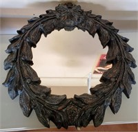 169 - UNIQUE WREATH MIRROR