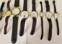 169 - SET OF 9 WATCHES