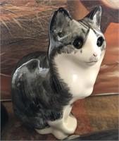 169 - TRIO OF PORCELAIN CAT FIGURINES