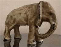 169 - UNIQUE ANTIQUE ELEPHANT