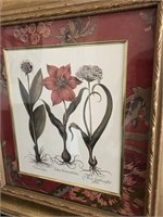 169 - PAIR OF UNIQUE FLOWER FRAMED PICTURES
