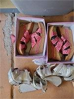 169 - LOT OF WOMENS SHOES - SEE PICS