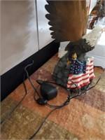 169 - UNIQUE EAGLE LAMP