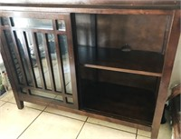 169 - UNIQUE WOOD SIDEBOARD