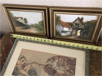 169 - SET OF 3 HOME DECOR PICTURES
