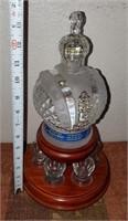 169 - RUSSIAN ELITE VODKA DECANTER W/SHOT GLASSES