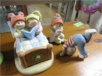 Porcelain Cabbage Patch Figurines