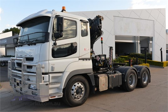 2015 Fuso FV500 - Trucks for Sale