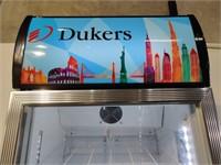 Commercial Single Swing Door Glass Refrigerator