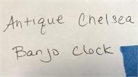D - ANTIQUE CHELSEA  BANJO CLOCK