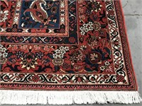 """D - HAND KNOTTED ORIENTAL RUG 10' X 6' 8"""""""