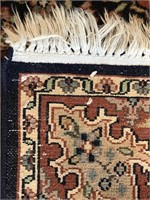 """HAND KNOTTED ORIENTAL RUG ANTIQUE 36.5"""" X 60"""""""