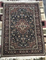 "D - ANTIQUE HAND KNOTTED ORIENTAL RUG 49"" X 70"""